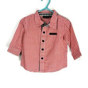 Calvin Klein Button Down Shirt  3-6m